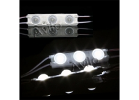 LED MODULE (2835) INJECTION - 3 LEDs - WHITE (EXTRA COLD)